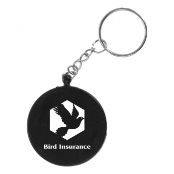 Keyring with compass print