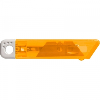 Cutter mit Federkernautomatik orange2