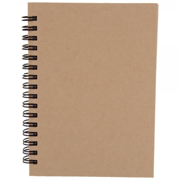 Recycle Notepad A6 brown