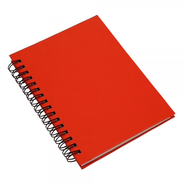 Recycle Notepad A6 red