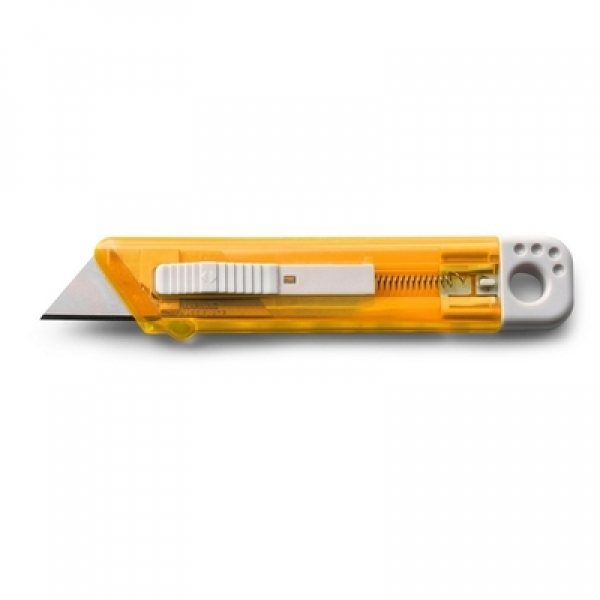 Cutter mit Federkernautomatik orange