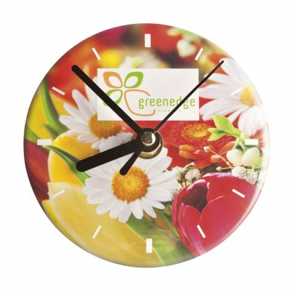 Button Clock Full Colour