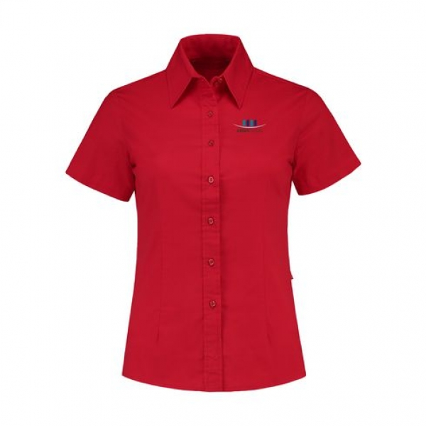 L & S Bluse rot