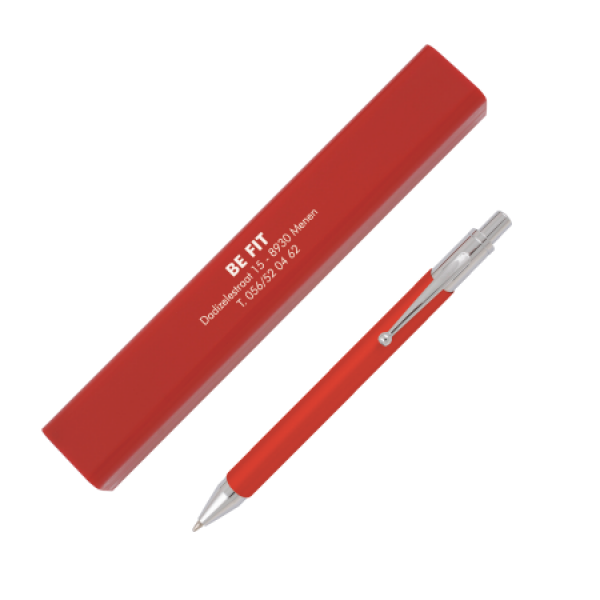 Bonaire case with pen red